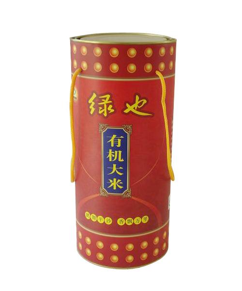 有机米纸筒