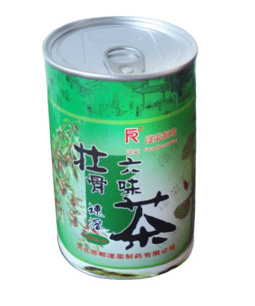 茶叶易拉盖纸罐