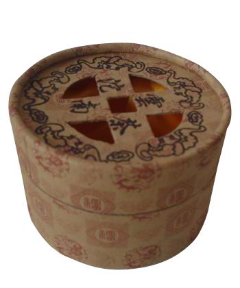 圆形茶叶包装罐