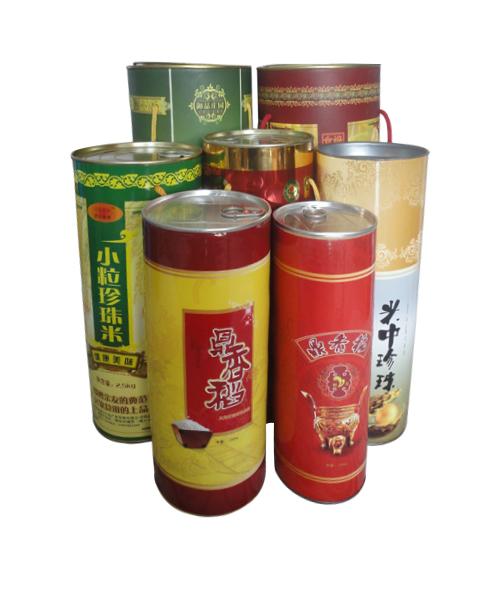 大米包装纸桶