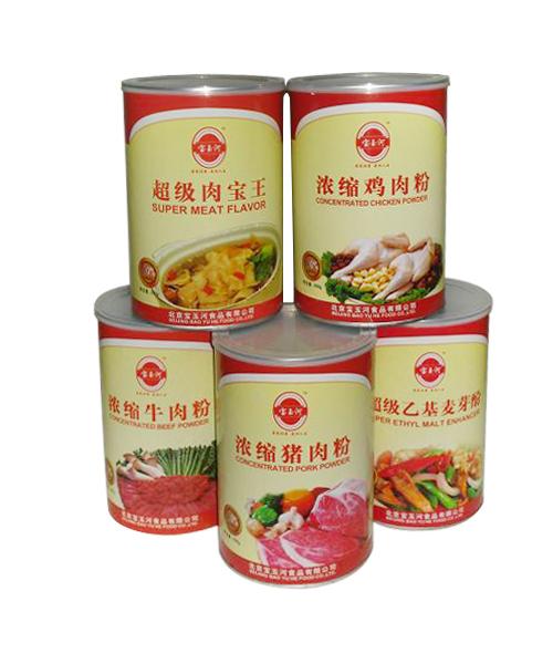 猪肉粉包装纸罐