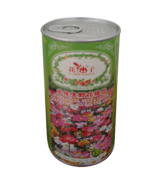 野花种子包装罐