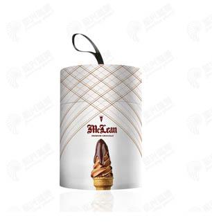 冰激凌纸桶