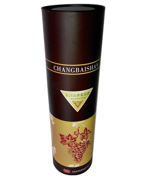 长白山葡萄酒包装罐
