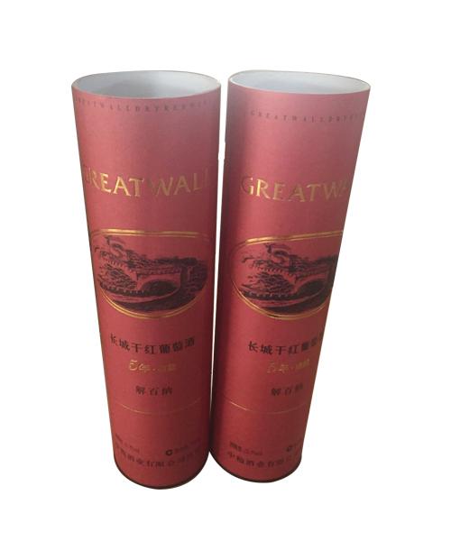 长城干红葡萄酒包装罐