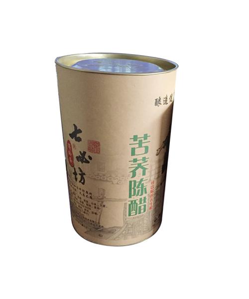 苦荞陈醋包装罐