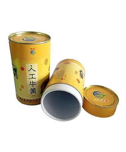 人工牛黄纸罐