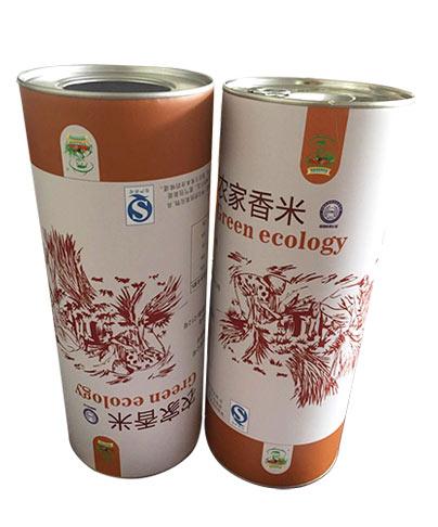 大米包装纸筒纸罐