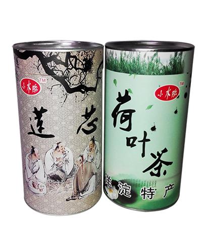 荷叶茶包装纸罐