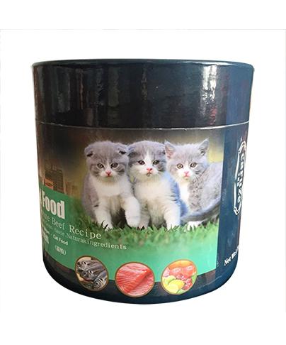宠物猫粮包装纸桶