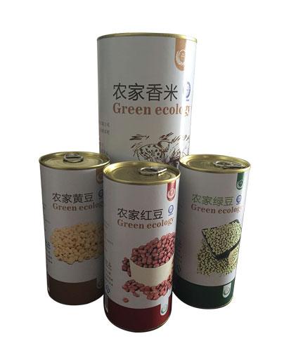 香米包装纸罐